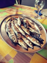 Olive Tree By the Sea - Grilled Anchovies