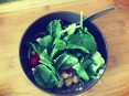 Olive Tree By the Sea - Chickpea, Feta Cheese, Cherry Tomatoes and Tahini Salad