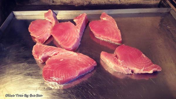Olive Tree By the Sea - Tuna Steak